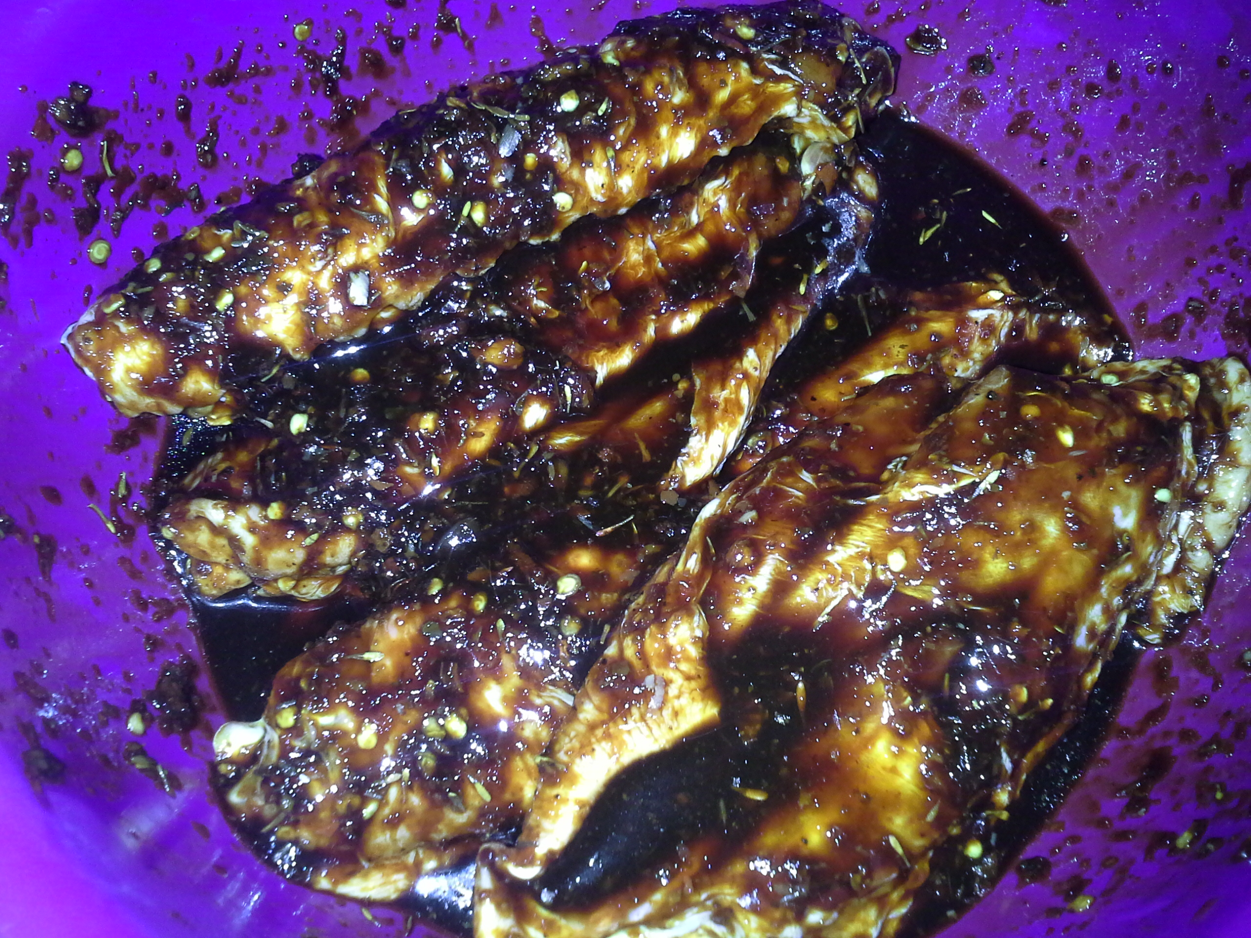 Marinaded meat